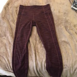 Purple athleta leggings